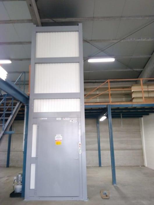 Monte-charge 1 colonne 3,5m